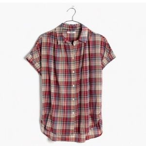 Madewell | Central Shirt in Bergen Plaid